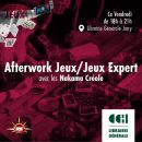 971 - After Work Jeux @ Librairie Générale by Caribbean Culture House
