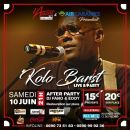 10/06 - LIVE & PARTY - KOLO BARST EN LIVE @ L'APPART971