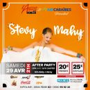 29/04 - LIVE & PARTY - STEVY MAHY EN LIVE @ L'APPART971