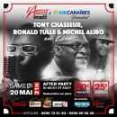 LIVE & PARTY - TONY CHASSEUR, RONALD TULLE & MICHEL ALIBO EN LIVE @ L'APPART971